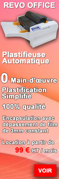 revo office plastifieuse automatique